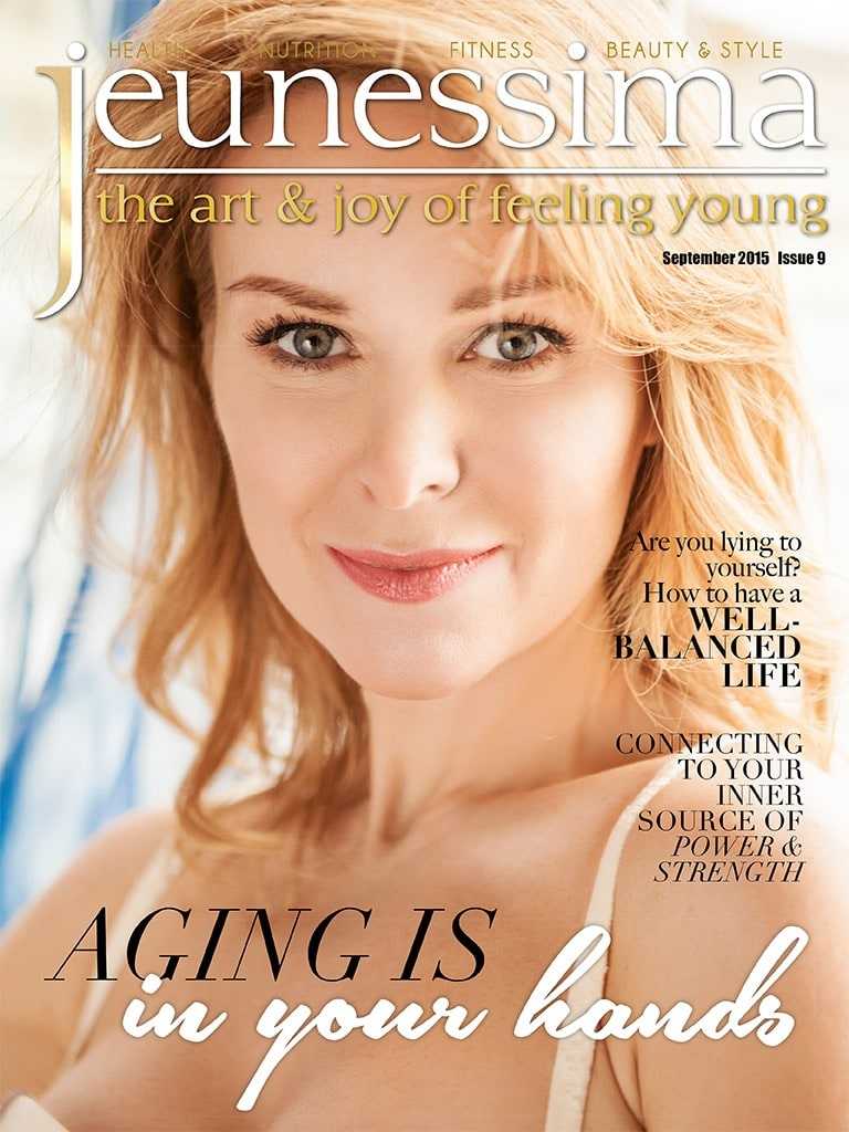 Jeunessima Magazine Issue 9. The Lifestyle Magazine for busy Women over 40 who want to really enjoy Life ... every Day ... at any Age
