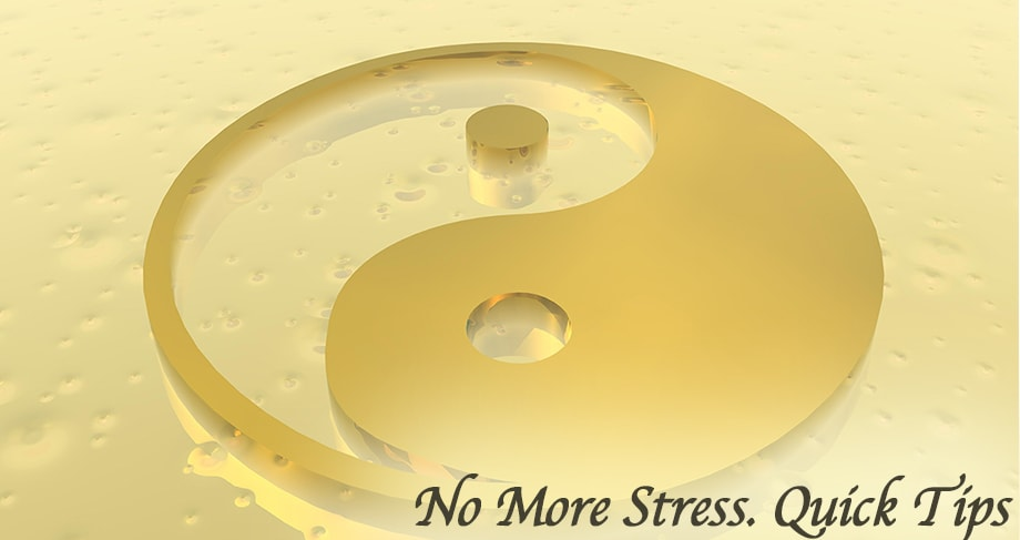 No More Stress ... Quick Tips for Staying Young