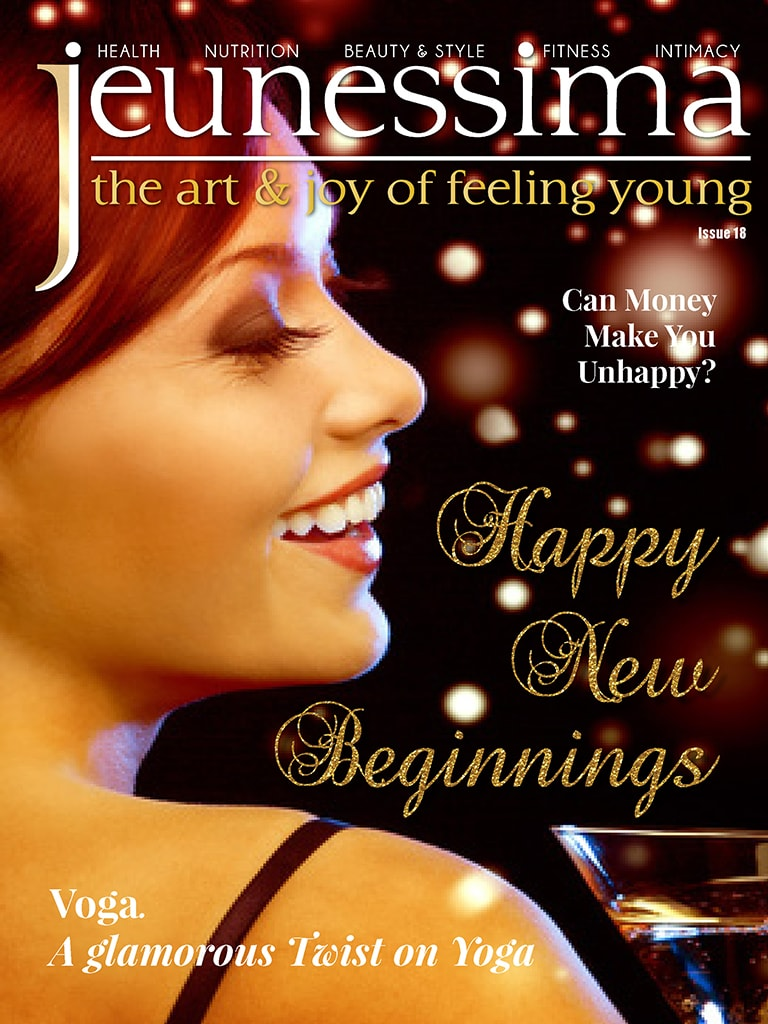 Jeunessima Magazine. The Art & Joy of Feeling YOUng ... at any Time ... and Age. For busy Women who really want to enjoy Life. Issue 18