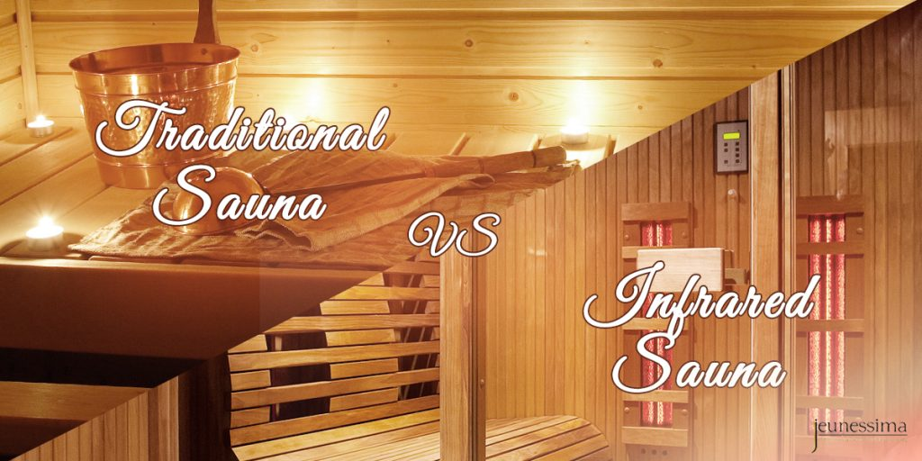 Traditional Sauna or Infrared Sauna? What is best when you do a Sauna Detox